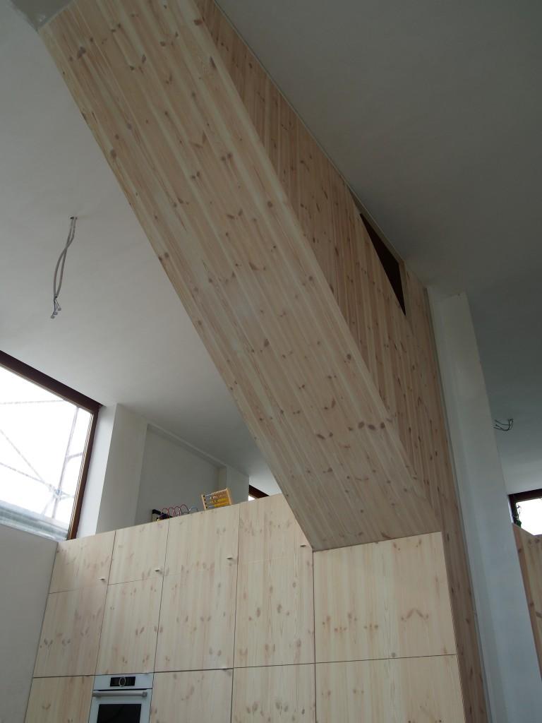 Schrijnwerk interieur op maat for Vijverrand afwerken met hout